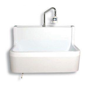 Lave main simple poste